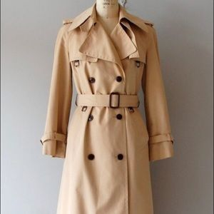 Vintage style trench coat